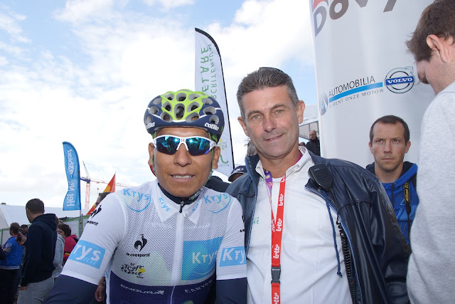 Nairo Quintana en Geert Vanhullebusch