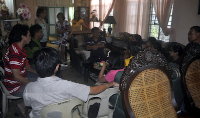 Sharing time at Mark Anthony Vasquez' Residence in Gapan City