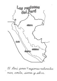 Las regiones del Per para nios