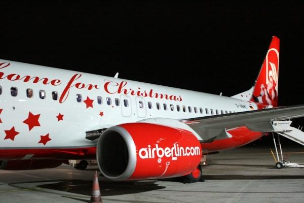 Der Air Berlin Weihnachtsflieger
