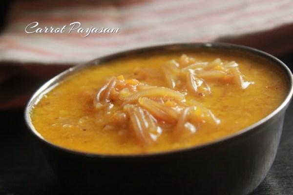 Carrot Payasam1