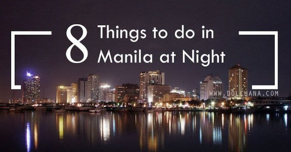 night activities in metro manila
