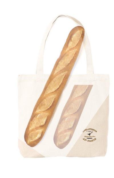 「佐野研二郎氏パクり・盗作疑惑2」トートバック:フランスパン2