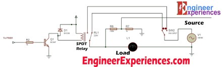 Relay Circuity For GSM Module