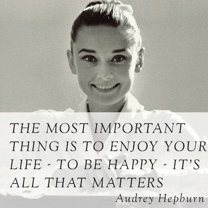 Audrey Hepburn Quotes