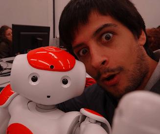 Selfie: Eu e o Nao