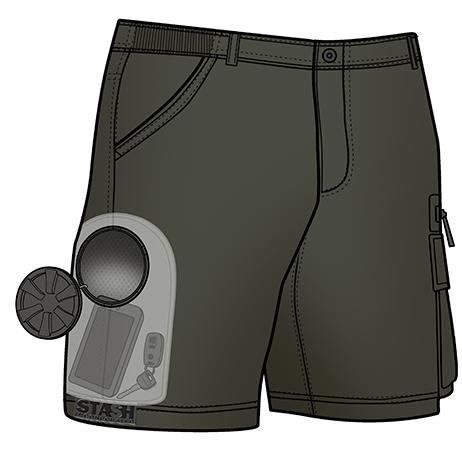 *STACH防水口袋海灘褲:水上活動隨身物品不離身! 4