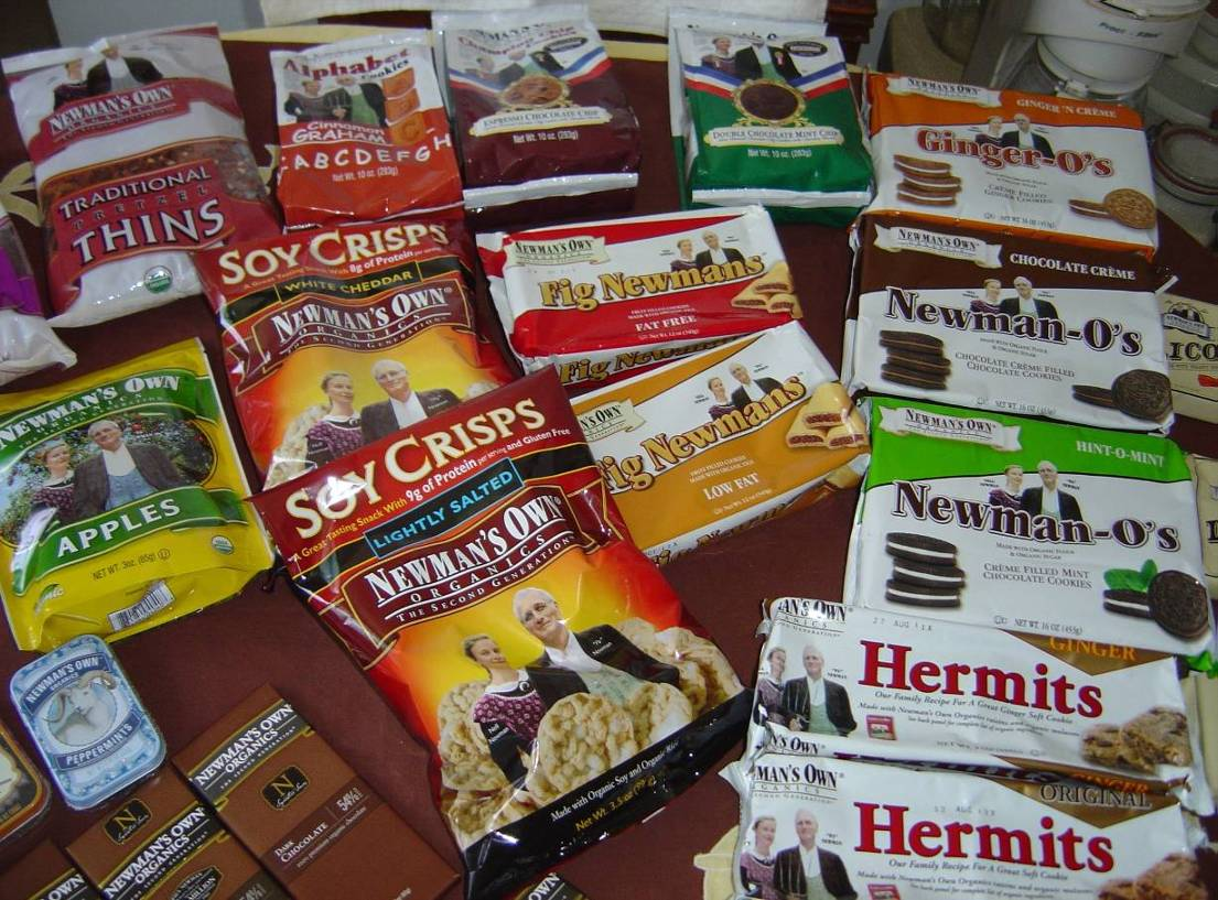 Newman's Own Organics cookie and snack assortment.jpeg