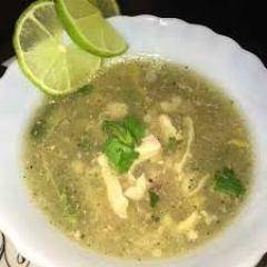 Chicken Coriander Lemon Soup