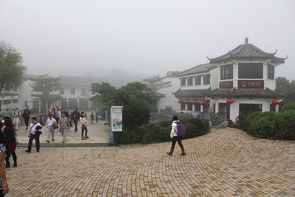 nong ping village lantau island