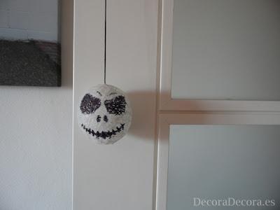 Decoración de Halloween para puertas.