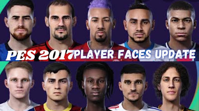 Pes 2017 Patch: Updated Faces from Pes 2021 Season Update