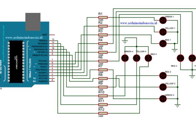 Lampu Lalu Lintas Memiliki Prinsip Kerja Dari Rangkaian Listrik Brainly Kumpulan Kerjaan Cute766