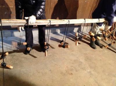 伝統的な玉露や抹茶の覆いで使われる、よしずの作り方 - 2
