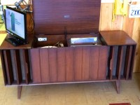 Mid Century Cabinet/Console Stereos with record player ...