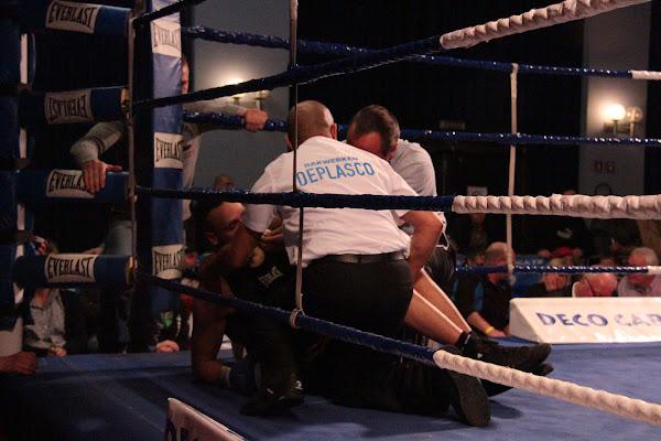 Olivier Muny vs Lowiek Nathan, boksmeeting Harelbeke 22 maart 2014