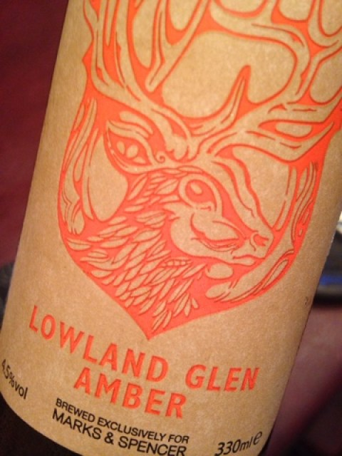 Lowland Glen Amber by Harvieston Brewery