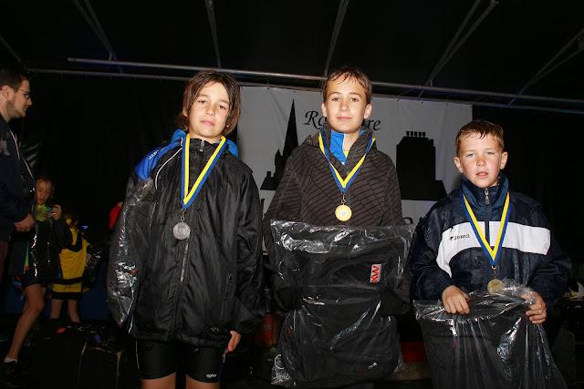 podium jongens 1000 meter kidsrun