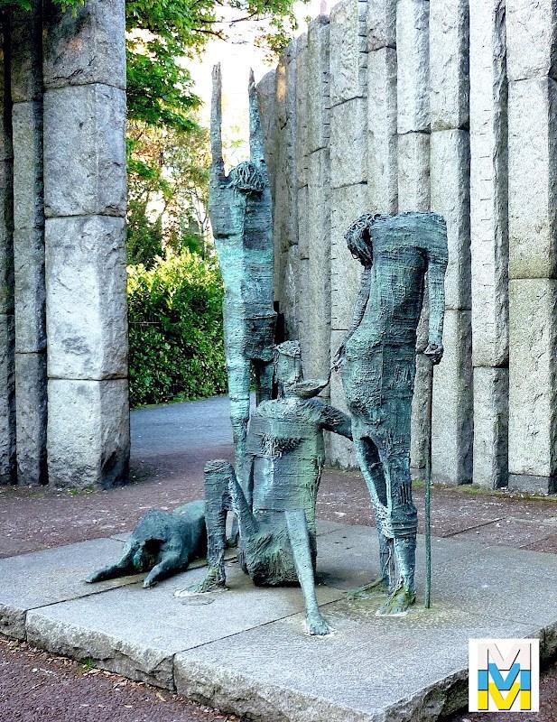 Grupo escultórico en Saint Stephen's Green Park (Dublín).