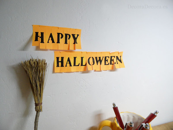 Decorar la oficina en Halloween