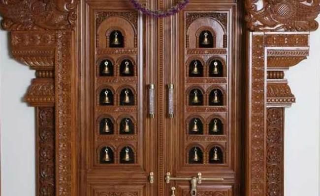 Pooja Room Door Design Photos Pictures Door Designs For Pooja Room Cute766