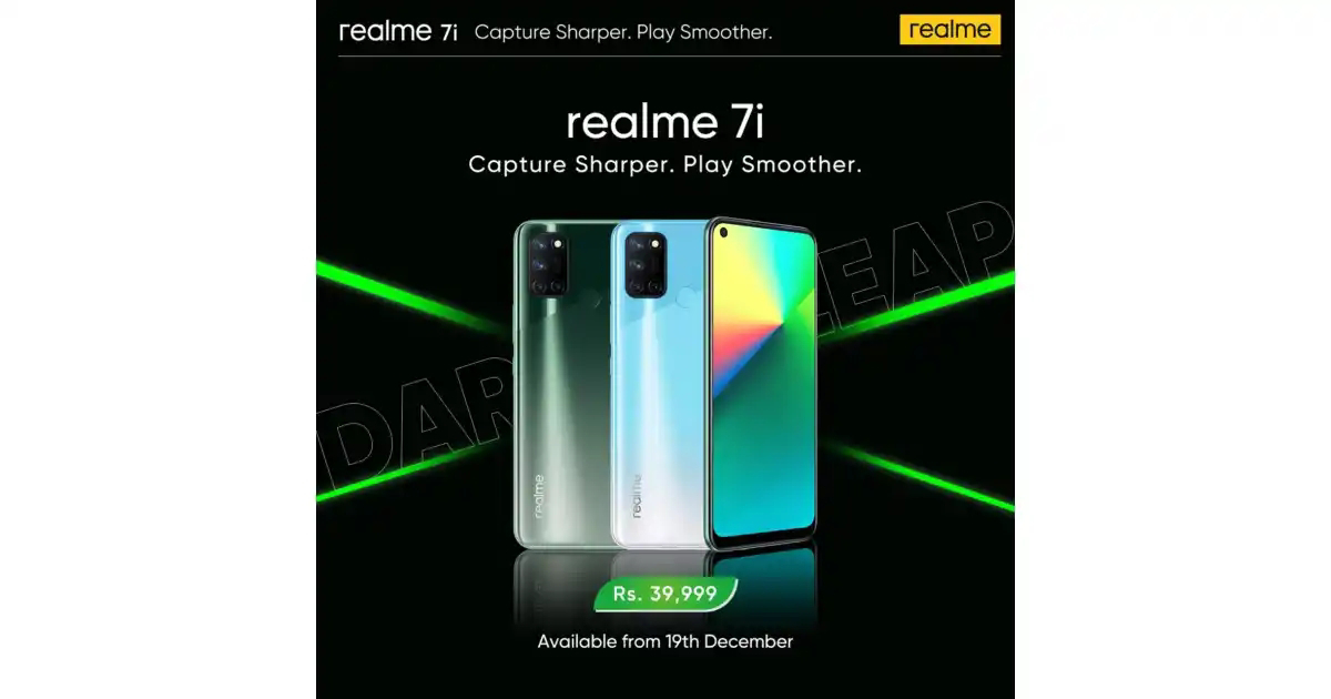 realme launches 64MP Ultra-Nightscape camera phone, realme 7i in Pakistan along with a designer toy 'realmeow', ANC technology Buds Wireless Pro, and Smart Scale from AIoT family