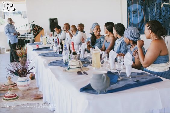 Wedding decor for a Sotho wedding 2018
