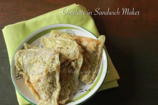 Omelette in Sandwich Maker3