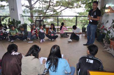 Day 1 - 1st Workshop Activity; Sir Jerome Marzan, Facilitator