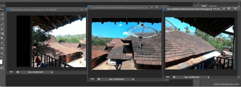 cara meggabungkan foto menjadi foto panorama