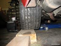 FD Race Wheels - Rear View