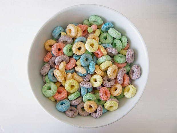 Froot Loops Cereal Bowls