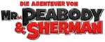 Die Abenteuer des Mr. Peabody & Sherman 3D-Logo