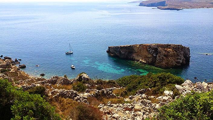 plages de gozo, que faire à gozo, baignade à Malte, paysages maltais, informations pratiques tourisme Malte