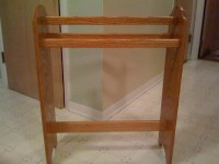 Woodwork Quilt Racks Wooden PDF Plans