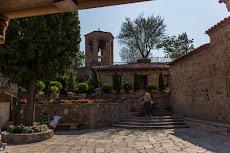 Courtyard of the monastery