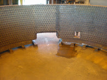 During the design phase of your Spray-Cooled equipment, slag retainers are attached in a designed pattern to insure better slag retention and maximun life.