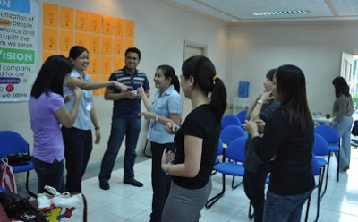 Batch 1: Light chat with Monde Nissin HR Department staff