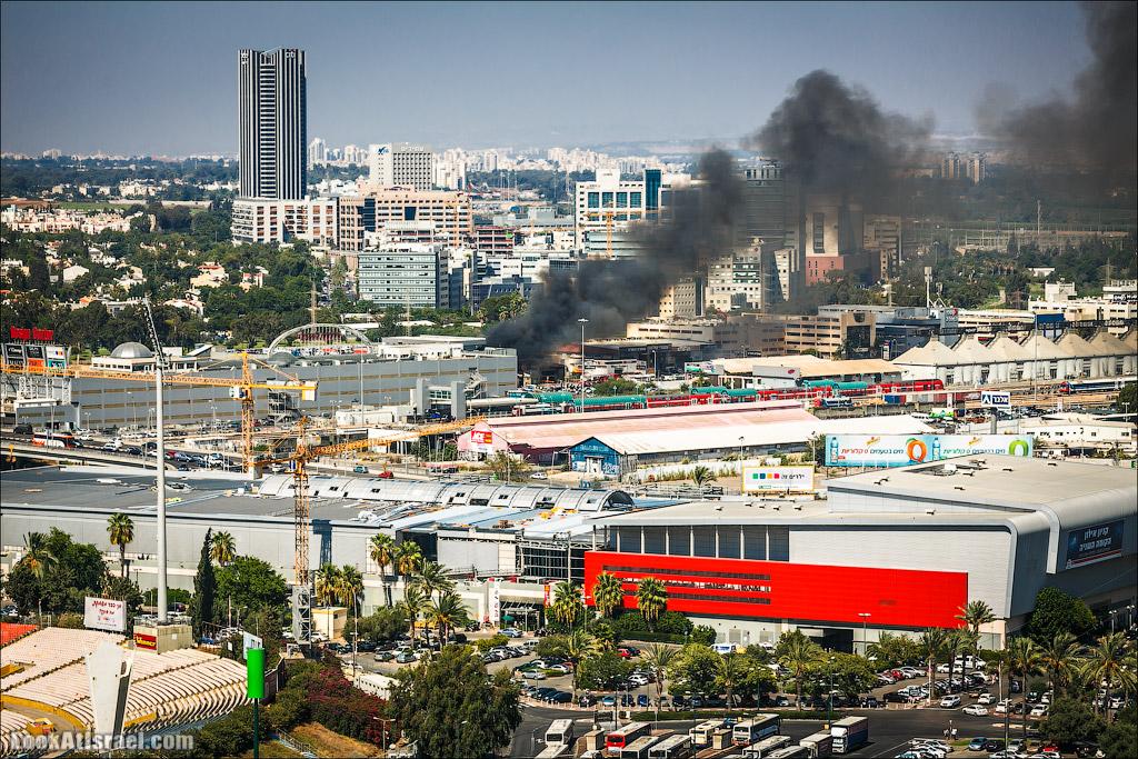 Одно фото пожарища