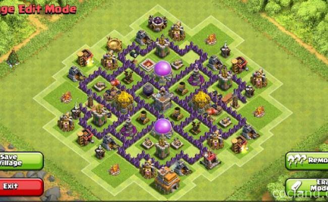 Coc Th7 Farming Base Mutiara Kata Cute766