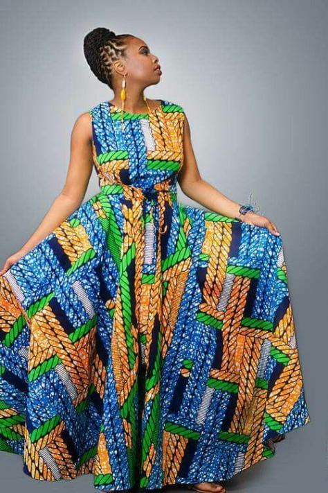 The Most Nigerian Chitenge Dresses For 2017 - Styles 7