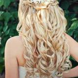 best long hair wedding hairstyles 2017