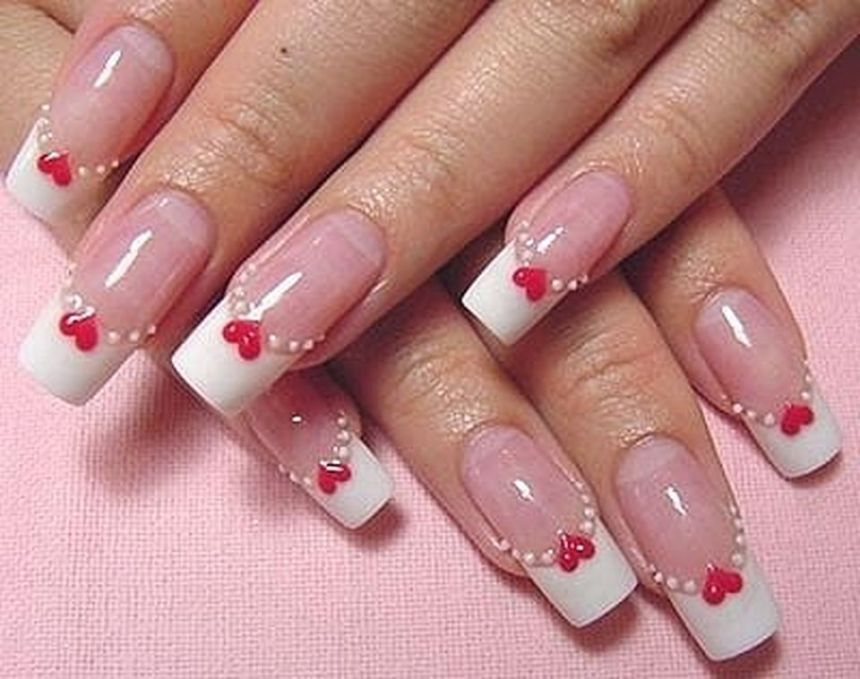 Wonderful Cute Valentines Day Nail Designs Images - Valentine Gift ...