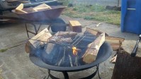 Cooking Over Flame at Home - Fire Pit