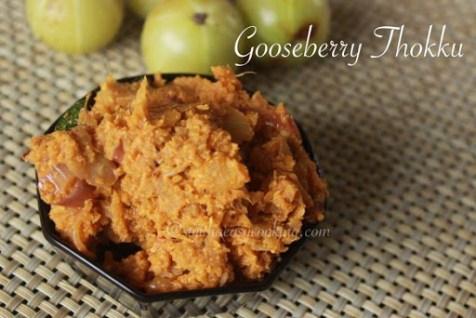 Gooseberry thokku1
