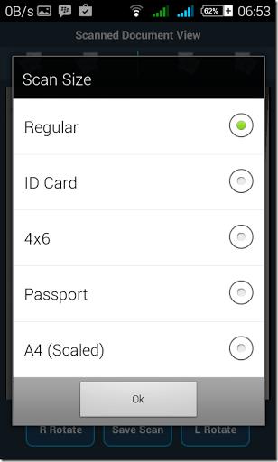 cara scanner cepat dengan hp android