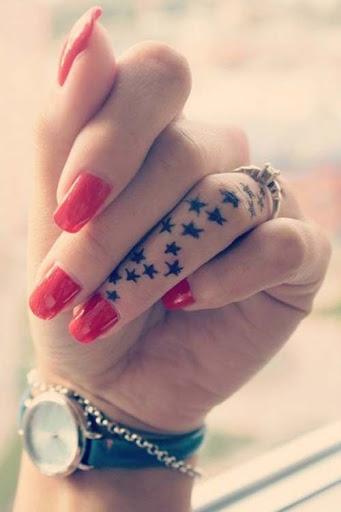 Tiny Finger Tattoo Ideas | POPSUGAR Beauty