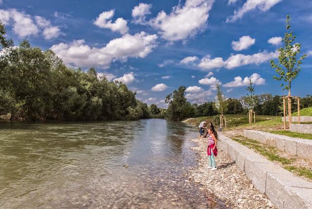 Das neue Rheinufer bei Neuenburg (1/6)