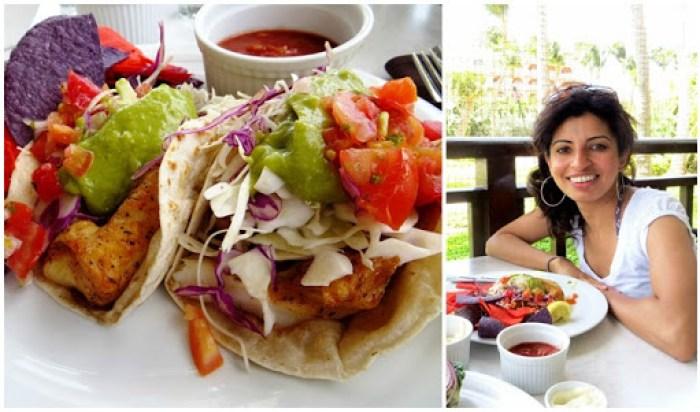 Hyatt Palms Aruba Fish Taco