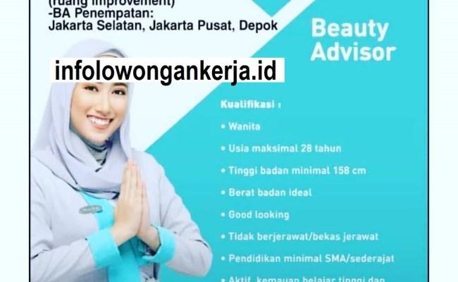 Lowongan Kerja Beauty Advisor Wardah Sokaraja Loker Cute766